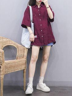 Best New Korean Fashion Hacks 6683784424 Korean Girl Fashion, Korean Fashion Trends, Korean Street Fashion, Ulzzang Fashion, Korea Fashion, Asian Fashion, Daily Fashion, Boyish Outfits, Girl Outfits