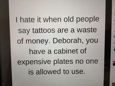 Yeah, Deborah