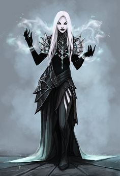 Dark sorceress, fantasy character inspiration Priest by NeexSethe on DeviantArt Dark Fantasy Art, Fantasy Rpg, Fantasy Girl, Fantasy Artwork, Dnd Characters, Fantasy Characters, Female Characters, Fantasy Inspiration, Character Inspiration