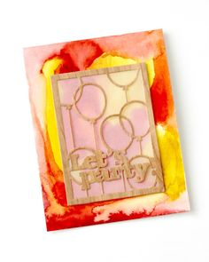 Papertrey Ink August Blog Hop:  Let's Party