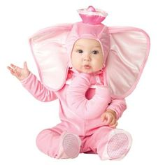 The Infant Toddler Pink Elephant Costume is the best 2018 Halloween costume for you to get! Everyone will love this Baby/Toddler costume that you picked up from Wholesale Halloween Costumes! Baby Elephant Costume, Animal Halloween Costumes, Cute Costumes, Girl Costumes, Costume Ideas, Holiday Costumes, Halloween Outfits, Halloween Themes, Children Costumes