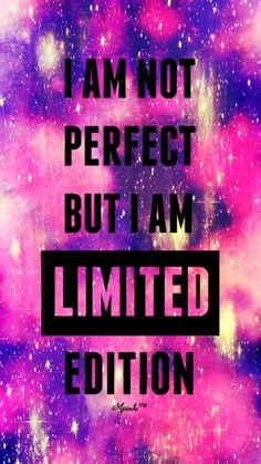 phone wall paper galaxy Im Not Perfect Galaxy Wallpaper Quote Backgrounds, Cute Wallpaper Backgrounds, Pretty Wallpapers, Wallpaper Quotes, Galaxy Background Quotes, Cute Emoji Wallpaper, Funny Iphone Wallpaper, Cute Girl Wallpaper, Galaxy Phone Wallpaper