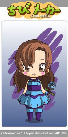 Meet the Sapphire Princess Chibi Maker, Sapphire, Meet, Princess, Fictional Characters, Princesses, Fantasy Characters