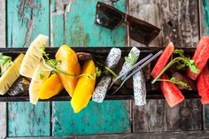 Breakfast: A feast of tropical sweets to start the day. Hemsley And Hemsley, Start The Day, Cambodia, Watermelon, Carrots, Pineapple, Mango, Cheese, Vegetables