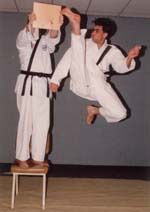 David M Vogtman began his martial arts training in 1979. He obtained a 2nd degree Black Belt in 1985 and has competed successfully in both point and full contact competitions. He has qualified for the Olympics at both state and National levels.               In this tape David shows the breaks that will be a part of the requirements for Black Belt. While this is not all that is required, it is the most demanding part and David will help you through each step. www.domoajigiftshop.com