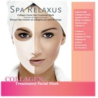 Spa Relaxus Collagen Face Masks - PPK of 12