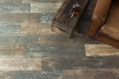 The beauty of hardwood meets the durability of tile.  Wood look tile is one of the hottest design trends right now.  Learn more.