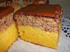 Zutaten    140 g Butter  100 g Zucker  5 Eigelb  100 g Mehl  50 g Speisestärke  10 g Backpulver  125 ml Sahne, (Obers)     Für den...