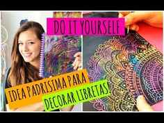 Decora tus libretas con esta idea! | DIY - YouTube