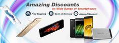 Get amazing #discounts on wide range of #smartphones. for more details. #TogoFogo