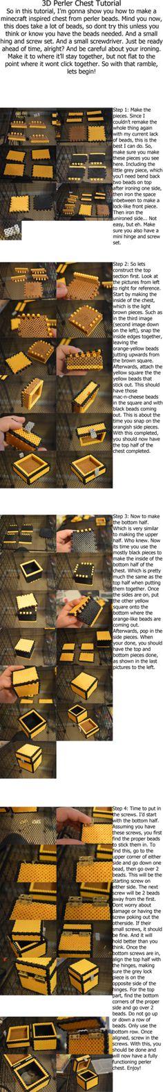 minecraft tnt block pattern minecraft tnt perler beads minecraft perler chest tutorial by ard95 on