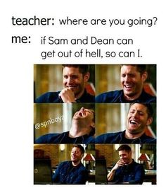 Supernatural (lol) More