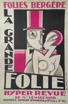 Maurice (Pico) Picaud - 'Folies Bergère / La Grande Folie' - 1927