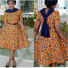 Amazing And Beautiful Short Ankara Style Gown - Eazy Vibe African Fashion Ankara, Latest African Fashion Dresses, African Print Dresses, African Print Fashion, Africa Fashion, African Dress, African Prints, African Attire, African Wear