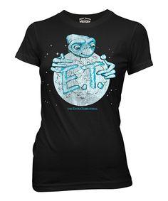 Black  E.T. The Extra-Terrestrial  Tee Camisetas Legais 79a69eeb753