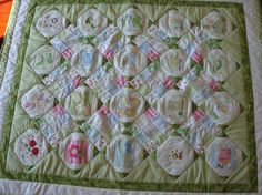 Custom Order Memory Quilt by countyfairquilts on Etsy