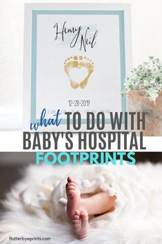 Such a great idea for preserving and showing off your newborn baby footprints!  So cool that you can personalize the color choices and the birth stats so you can remember when you brought home baby from the hospital. Perfect keepsake for a nursery.  #babyfootprintart #babyfootprintideas #babyfootprintkit #newbornbaby #newbabykeepsake Baby Footprint Art, Baby Footprints, Personalized Baby Gifts, Art Wall Kids, Wall Art, Baby Boy Nurseries, Baby Decor, Baby Names, Nursery Ideas