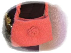 Handtaschen - lachsfarbene Handtasche - ein Designerstück von Taschenatelier bei DaWanda
