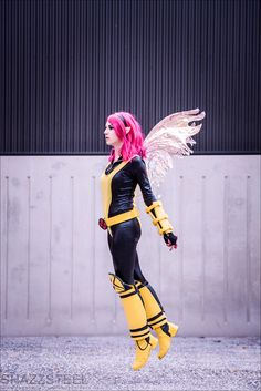 X-Men - Pixie by Shazzsteel.deviantart.com