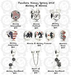 Pandora Disney Spring 2015 with prices- Why do we not have these here in the UK????