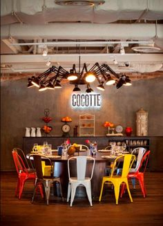 love this space, but not the lighting fixture - looks too much like a giant spider