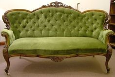 victorian couch.