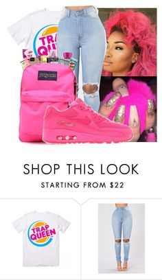 """""""shine bright ✨"""" by badleaa ❤ liked on Polyvore featuring NIKE"""