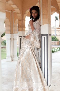 #AnitaDongre #white #Indian #indianroots #fashion #modern #bride #jaipur