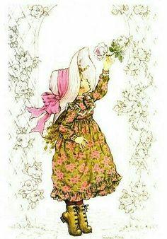 The Perfect Rose Vintage Cards, Vintage Postcards, Mary May, Decoupage, Illustrations Vintage, Holly Hobbie, Australian Artists, Cute Illustration, Vintage Children
