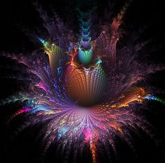 WOW!  A very COLORFUL explosion!