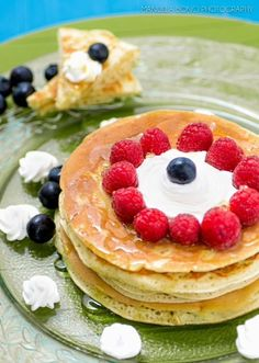 Le dolcezze di Valentina: Pancake ai frutti rossi