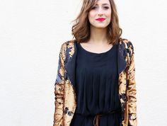 Huguette Paillettes | Couture - Veste sequins - Pretty Mercerie