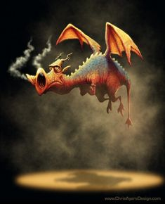ArtStation - The Daily Zoo - Steamed, Chris Ayers Dragon Cat, Baby Dragon, Magical Creatures, Fantasy Creatures, Fantasy Dragon, Fantasy Art, Dragon Sketch, Dragon Drawings, Dragon Pictures