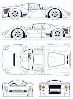 Ferrari 330p-412p4