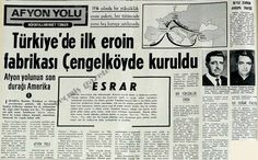 Tarihimizin En İlginç Olaylarından Biri: İstanbul'da Kurulan 3 Eroin Fabrikası - http://www.aylakkarga.com/tarihimizin-en-ilginc-olaylarindan-biri-istanbulda-kurulan-3-eroin-fabrikasi/