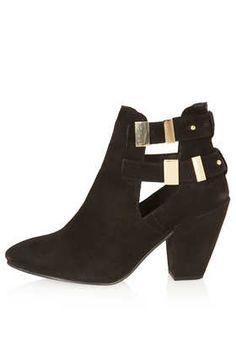 AMARIE Cut Out Boots - Boots  - Shoes