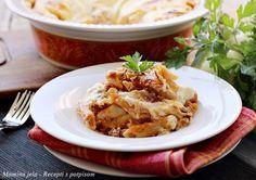 Mamina jela: Mleveno meso sa makaronama i bešamelom zapečeno u rerni