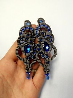 Soutache earrings by MaNiko