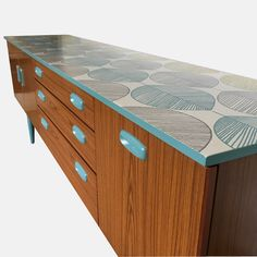 Upcycled Schreiber Sideboard | Retro | Mid-century | Annie Sloan Chalk Paint | Upcycled Furniture | #Schreiber | #Sideboard | #Retro | #Midcentury | #AnnieSloan | #UpcycledFurniture | Dolly Did It | #DollyDidIt | £375