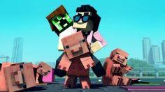 minecraft style - YouTube