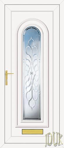 Washington One Legend (Clear Bevel) UPVC Front Door from Just Doors UK. Aluminium Windows And Doors, Entry Doors With Glass, Door Detail, Glass Partition, Beveled Glass, Reformation, Glass Design, Stained Glass, Washington
