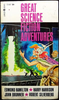 scificovers:  Great Science Fiction Stories edited by Larry T. Shaw 1963. Cover by Ed Emshwiller.