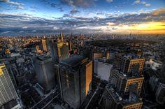 Observation Deck of the Tokyo Metropolitan Government Building, Tokyo, Japan