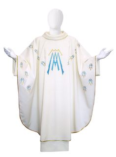 Marian Chasuble. Made in italy. info@tiemmecreazioni.it