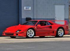 😍FOR SALE😍 🏁PRICE: $1,550,000 - TEXT (424) 256-6861🏁 •1990 Ferrari F40 •8,000 Miles •Two Owner Car From New •Location: USA #Ferrari #F40 #FerrariF40 #Rosso #TwinTurbo