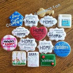 Another batch of House Warming Cookies