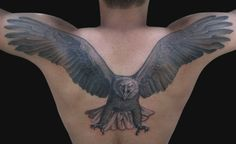 eagle tattoos on back body - http://tattoosaddict.com/eagle-tattoos-on-back-body.html #back, body, eagle, eagle tattoo, eagle tattoos, on, tattoos