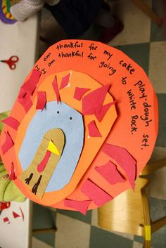 t is for thanksgiving Turkey Card  {turkeys and pumpkin pie and being thankful}