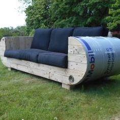 diy einen bbq ofen aus einem lfass selber bauen. Black Bedroom Furniture Sets. Home Design Ideas