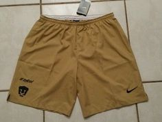 NWT Authentic NIKE Pumas Unam Mexico Soccer Shorts  Men's XL